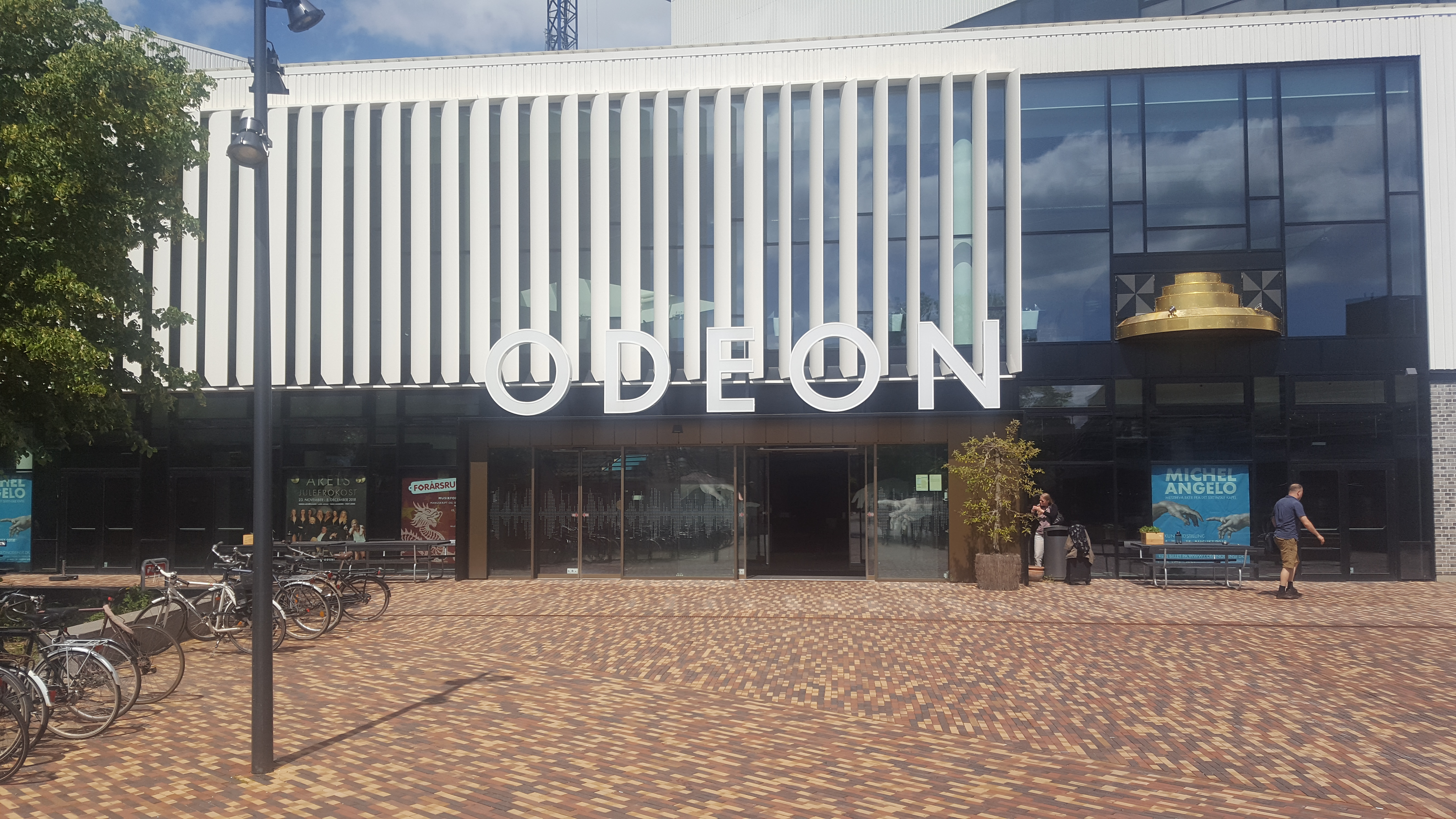 Odeon i Odense, front indgang