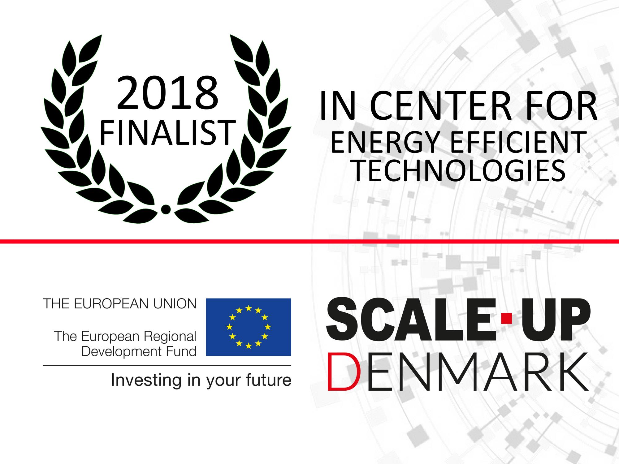 finalist 2018, energy efficient technologies, scale up denmark