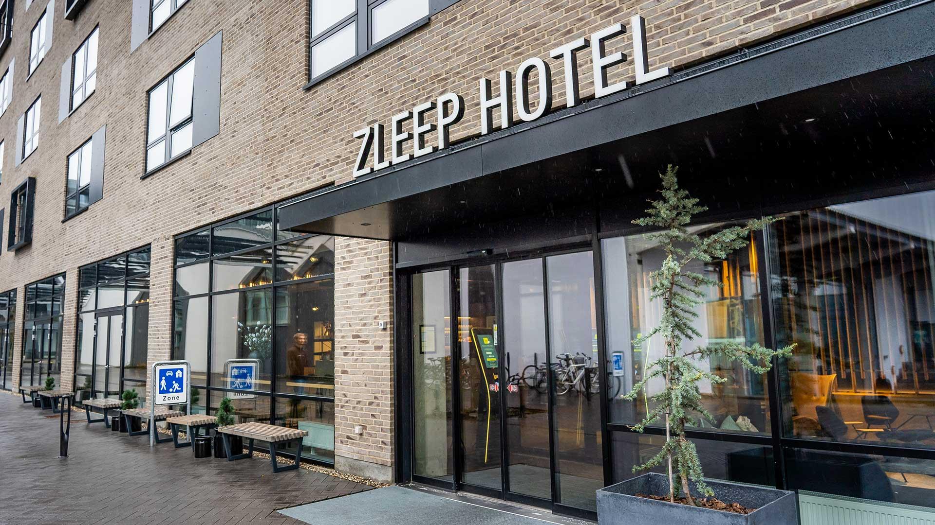 Zleep Hotel Aalborg, Indgang